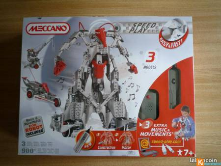 Boite Meccano Speed Play n°9901