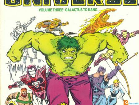 The Official Handbook of the Marvel Universe 3