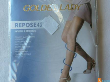 Collant taille 2 neuf Golden Lady (35)