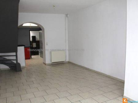 Maison 2 chambres+bureau+ places de parking - Roubaix