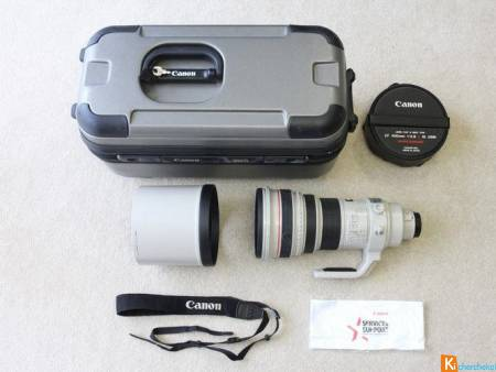Canon EF 400 mm 2.8 L IS USM