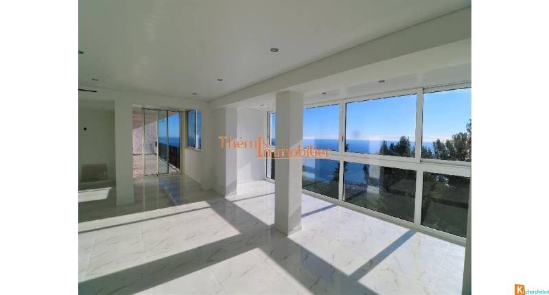 Vente appartement La Turbie 128 m2, vue panoramique mer et Monaco