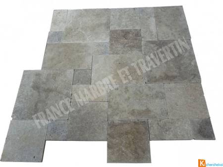 Travertin Beige Opus Romain 5 Format Rustique