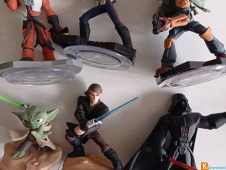Figurines Star Wars comme neuves