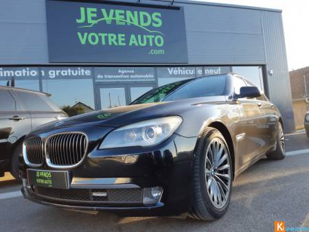 BMW Série 7 , 730d 245ch Exclusive berline, noir,