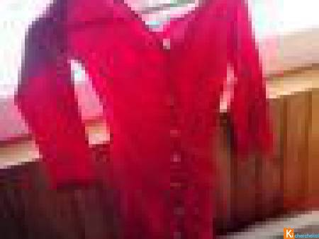 Robe rouge pour femme taille 34