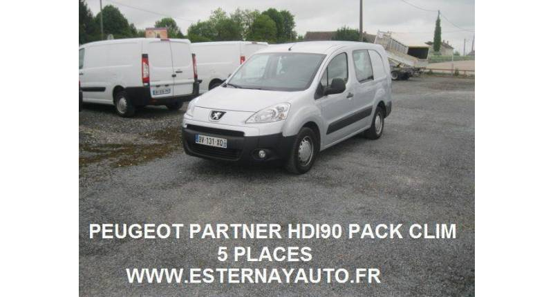 Peugeot Partner  HDI90 5 PLACES