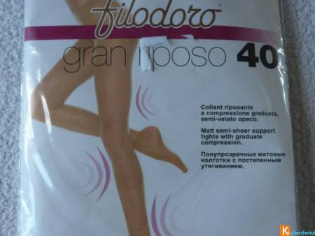 Collant voile taille 2 neuf Filodoro (40)