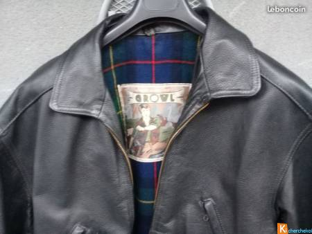 veste cuir GROWL