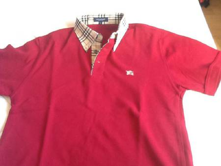 Polo homme Bordeaux Burberry