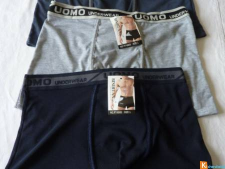 Lot de 3 Boxers taille L neuf BINIHUANG (13)