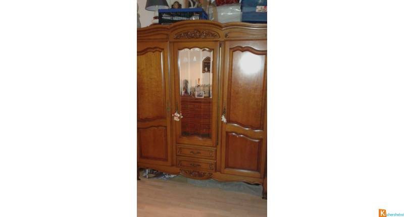 Armoire 1 Table De Chevet