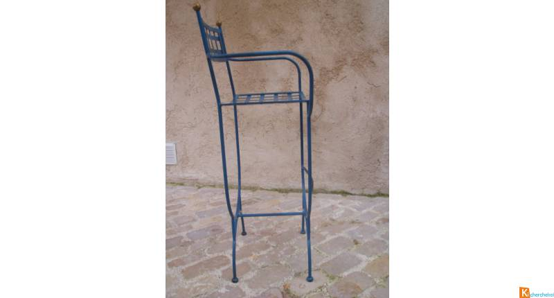 Tabouret de bar type industriel