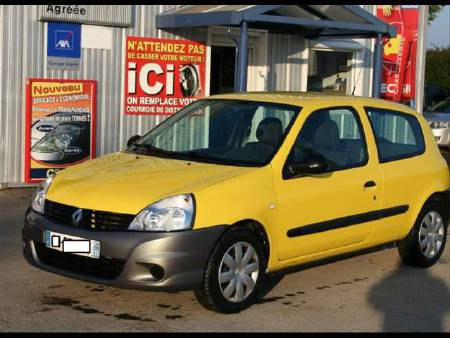Renault Clio III 1.5 DCI 65 CAMPUS SOCIETE 2 PLACES