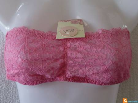 Bandeau rose taille 85A neuf (256)