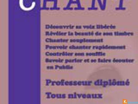 Cours de chant - Paris 5e