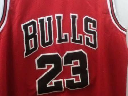 Maillot NBA Swingman MICHAEL JORDAN # 23 BULLS RED