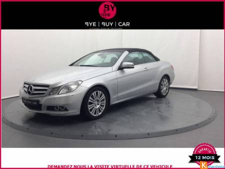 Mercedes CLASSE E Cabriolet 220 Cdi Fap Blueefficiency  Garantie 1 An