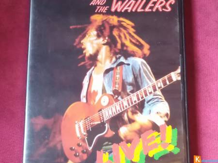 DVD bob Marley and the wailers at the