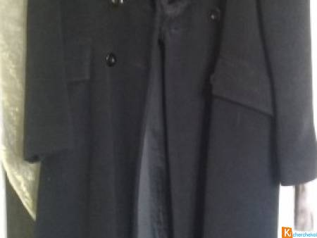 Manteau noir long