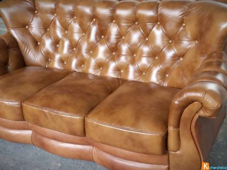 Chesterfield Classic Canapé 3 places Chic-Confort
