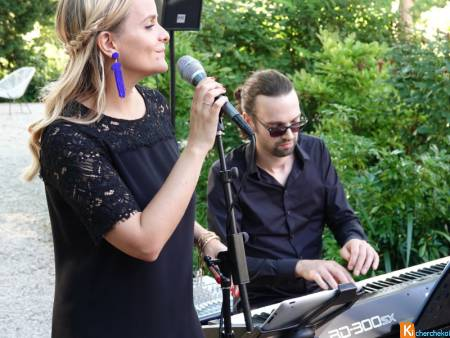 Groupe musique cocktail mariage Oise Chantilly