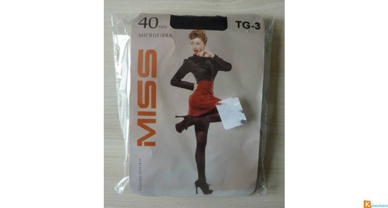 Collant noir taille 3 neuf Miss (46)