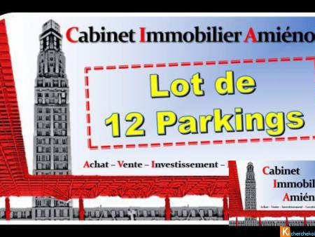Amiens : Lot de 12 parkings ! - Amiens
