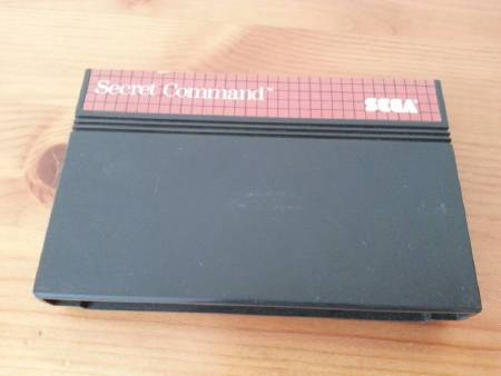 Jeu Master System Secret Command