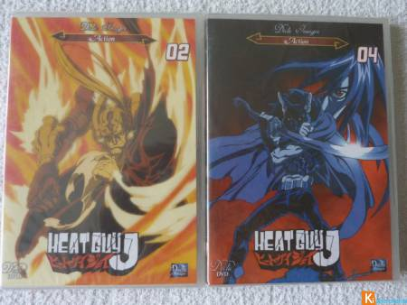 Lot de 2 DVD Heat Guy J neuf