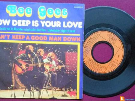 Bee Gees / Wings / The Floaters (1977) Vinyle 45T