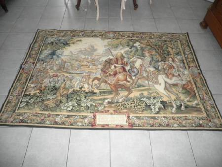 Tres belle tapisserie ancienne