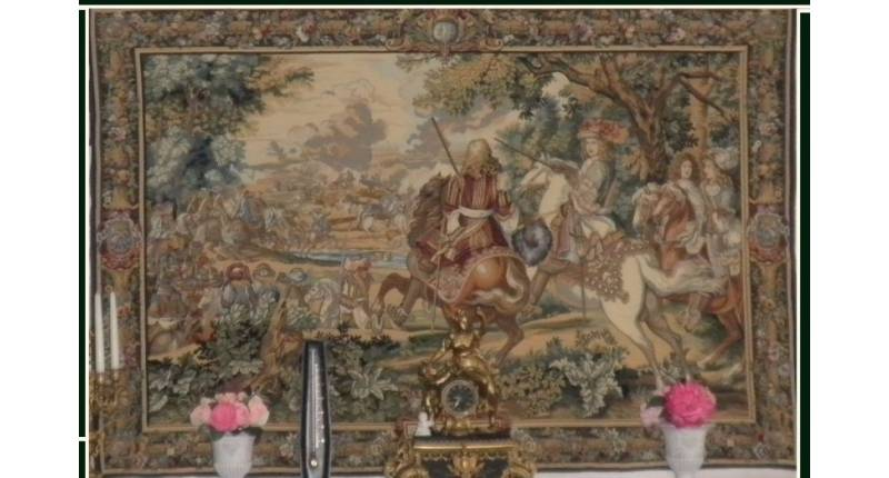 Tres Belle Tapisserie Ancienne Occasion Chaumont 52000 Petite