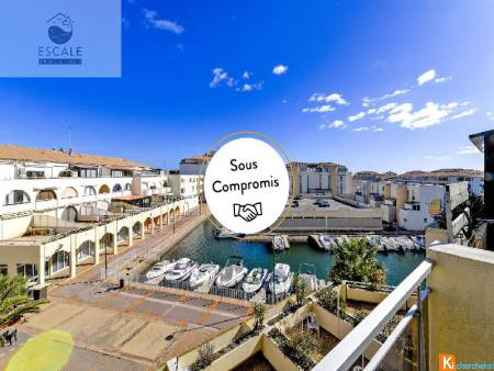VENTE STUDIO CABINE + PARKING AU PORT DES QUILLES A SETE