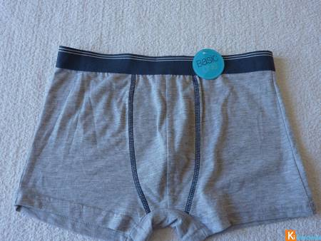 Boxer gris taille 14 ans neuf (207)