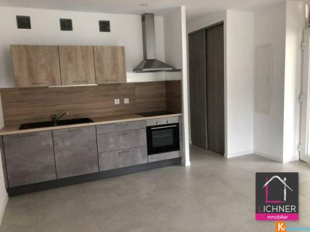 Bel appartement F2 neuf - saint-avold