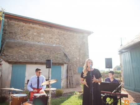 Groupe pop jazz cocktail mariage Eure