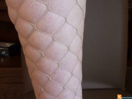 Lot 8 collants fantaisie beige 1/2 neuf (lot8)