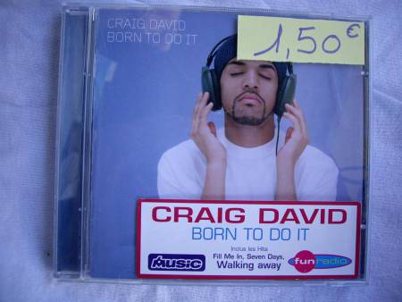CD de Craig DAVID et Lenny KRAVITZ