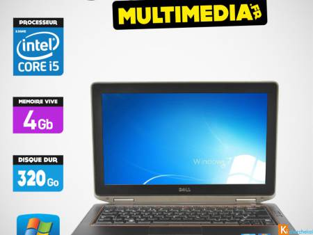 PC portable DELL E6420 CORE I5 VPRO 250GO SSD 4GB