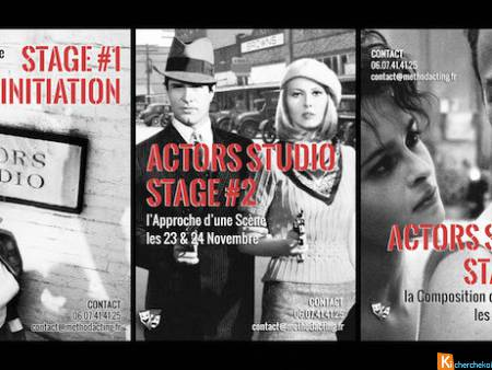 STAGES 1 - 2 - 3 ACTORS STUDIO - Method Acting Cen