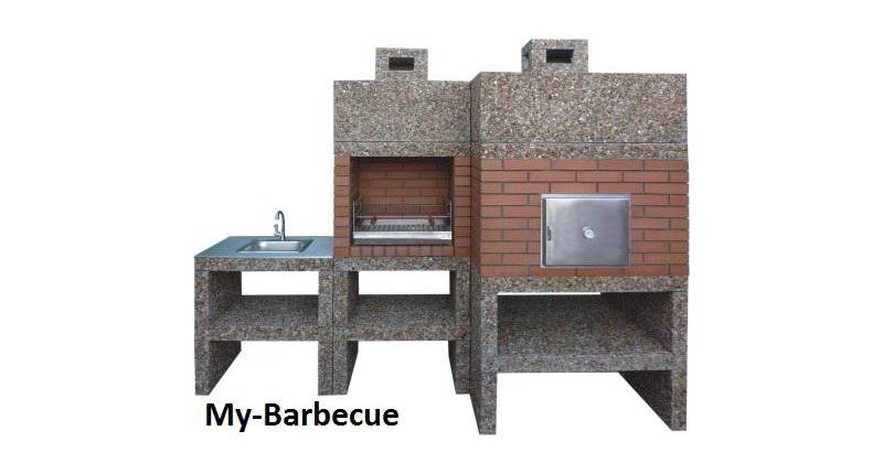 Barbecue Moderne avec Four