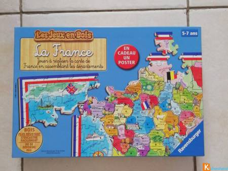 "Puzzle ""Département de France"""