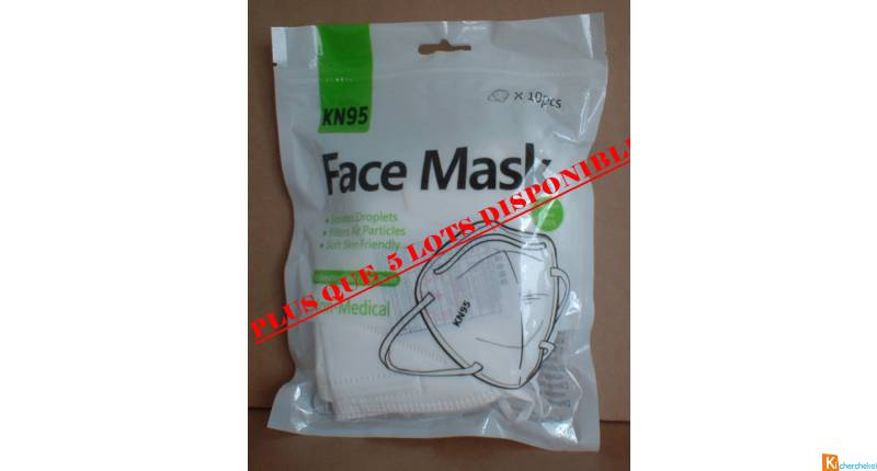 Lot de masques de protection (masques certifiés)
