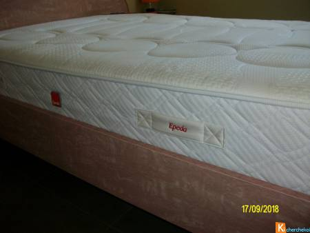 Matelas Epeda 140 x 190, état neuf. px: 190€  Cont