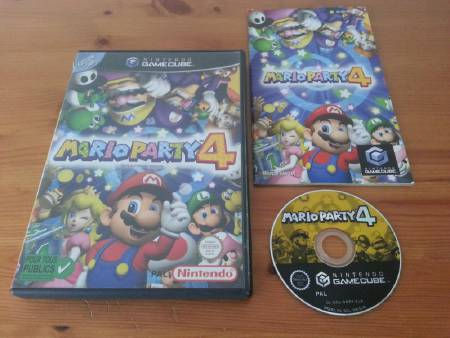 Jeu Gamecube Mario Party 4