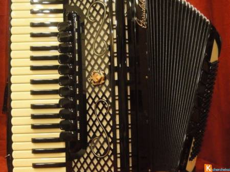 Accordéon Scandalli Super VI 2S Double Tone