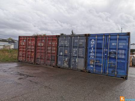 container maritime 20/40 pieds occasion