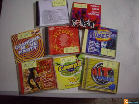 CD de Compils et de DANCE