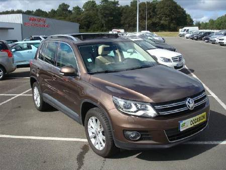 Volkswagen Tiguan 2.0 TDI 140ch FAP BlueMotion Technology Carat 4Motion DSG7